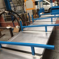 Oil Collection tables for local steel stockholder
