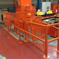 Set of barriers & guards supplied to local steel stockholders